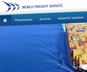 Creation site web  World Freight Service