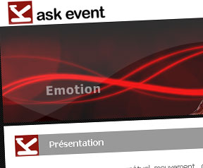 Creation site web Ask Event